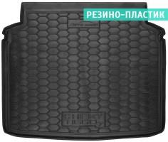 Коврик в багажник для Chery Tiggo 7 '17- резино-пластиковый (AVTO-Gumm)