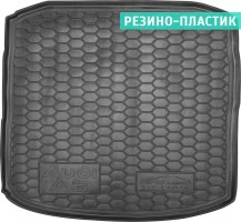Коврик в багажник для Audi A3 '12-, седан, резино-пластиковый (AVTO-Gumm)