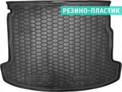 Коврик в багажник для Renault Megane 3 '08-16, универсал, резино-пластиковый, с карманами (AVTO-Gumm)