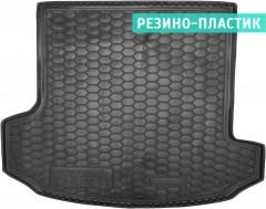 Коврик в багажник для Skoda Kodiaq '17-, 7 мест, длинный, резино-пластиковый (AVTO-Gumm)
