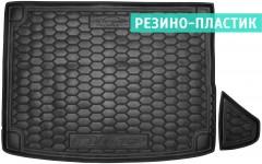 Коврик в багажник для Kia Niro '17-, с органайзером, резино-пластиковый (AVTO-Gumm)