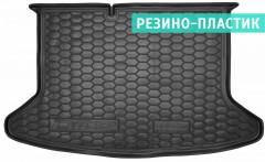 Коврик в багажник для Kia Niro '17-, без органайзера, резино-пластиковый (AVTO-Gumm)