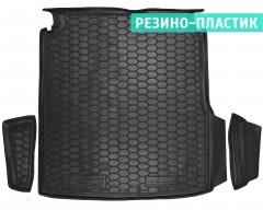Коврик в багажник для Volkswagen Passat USA 2011-2019, резино-пластиковый (AVTO-Gumm)