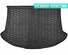 Коврик в багажник для Great Wall Haval H2 '14- резино-пластиковый (AVTO-Gumm)