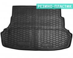 Коврик в багажник для  Hyundai Accent (Solaris) '11-17, седан, не складывающееся зад. сидение резино-пластиковый (AVTO-Gumm)