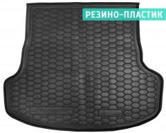 Коврик в багажник для Kia Stinger '17- резино-пластиковый (AVTO-Gumm)