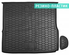 Коврик в багажник для Lada (Ваз) Vesta '15-, Cross, верхний резино-пластиковый (AVTO-Gumm)