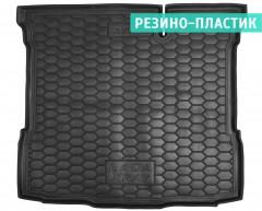 Коврик в багажник для Lada (Ваз) XRAY '15-, нижний резино-пластиковый (AVTO-Gumm)