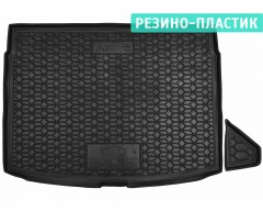 Коврик в багажник для Kia Ceed '19-, хетчбэк, верхняя полка, резино-пластиковый (AVTO-Gumm)