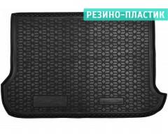 Коврик в багажник для Opel Combo '01-12, (пасс.), резино-пластиковый (AVTO-Gumm)