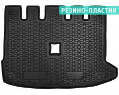 Коврик в багажник для Renault Lodgy '18-, с разд. сидушкой, резино-пластиковый (AVTO-Gumm)