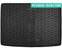 Коврик в багажник для Mercedes B-Class W246 '12-, электро. двиг., евро. сборка, резино-пластиковый (AVTO-Gumm)