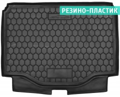 Коврик в багажник для Opel Mokka '12-, резино-пластиковый (AVTO-Gumm)