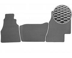 Коврики в салон для Volkswagen LT '96-05, EVA-полимерные, серые (Kinetic)