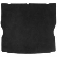 Коврик в багажник для Opel Zafira B '05-13 текстильный, черный (Optimal)
