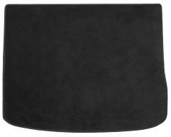 Коврик в багажник для Volkswagen Tiguan '07-16 текстильный, черный (Optimal)