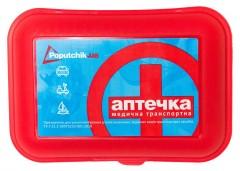 Аптечка первой медицинской помощи в пластиковом футляре 02-001-П Poputchik