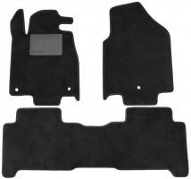 Коврики в салон для Acura MDX '06-13, текстильные, черные (Optimal)