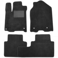 Коврики в салон для Acura RDX '14-18, текстильные, черные (Optimal)
