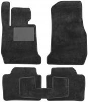 Коврики в салон для BMW 3 F30 '12-, текстильные, черные (Optimal)