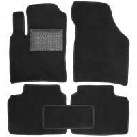 Коврики в салон для Brilliance M2 '05-, текстильные, черные (Optimal)