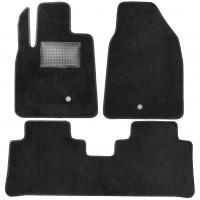 Коврики в салон для Chevrolet Captiva '06-, текстильные, черные (Optimal)