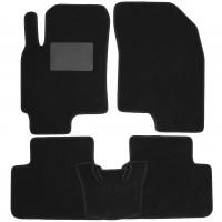 Коврики в салон для Chevrolet Epica '07-12, текстильные, черные (Optimal)