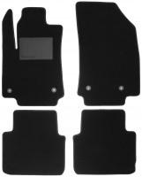 Коврики в салон для Citroen C3 Aircross '17-, текстильные, черные (Optimal)