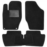 Коврики в салон для Citroen C4 / DS4 '11-, текстильные, черные (Optimal)