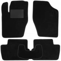 Коврики в салон для Citroen C4 '05-09, текстильные, черные (Optimal)