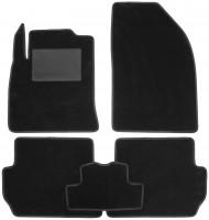 Коврики в салон для Ford Fiesta '02-09, текстильные, черные (Optimal)