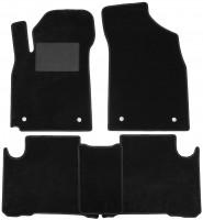 Коврики в салон для Geely Emgrand X7 '13-, текстильные, черные (Optimal)