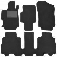 Textile-Pro Килимки в салон для Honda FR-V '04-09, текстильні, чорні (Optimal)
