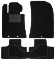 Коврики в салон для Hyundai Genesis Coupe '08-16, текстильные, черные (Optimal)