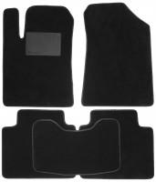 Коврики в салон для Hyundai Grandeur '05-11, текстильные, черные (Optimal)