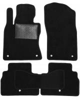 Коврики в салон для Infiniti Q50 '14-, текстильные, черные (Optimal)