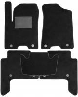 Коврики в салон для Infiniti QX80 '11-, текстильные, черные (Optimal)