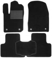 Коврики в салон для Jeep Grand Cherokee '11-, текстильные, черные (Optimal)