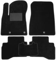 Коврики в салон для Kia Niro '17-, текстильные, черные (Optimal)