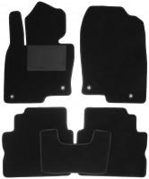 Коврики в салон для Mazda CX-5 2017 -, текстильные, черные (Optimal)