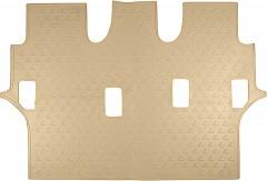 3й ряд ковриков для Lexus LX 570 '08- полиуретановые, бежевые (Novline / Element)