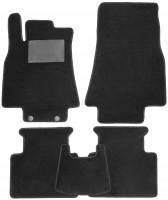 Коврики в салон для Mercedes B-Class W245 '05-11, текстильные, черные (Optimal)