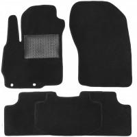 Коврики в салон для Mitsubishi ASX '10-, текстильные, черные (Optimal)