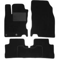 Коврики в салон для Nissan Qashqai '14-, текстильные, черные (Optimal)