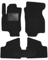Коврики в салон для Opel Astra G '98-10, текстильные, черные (Optimal)
