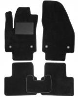 Коврики в салон для Opel Meriva '10-, текстильные, черные (Optimal)