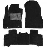 Коврики в салон для Peugeot Bipper '08-, текстильные, черные (Optimal)