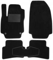 Textile-Pro Килимки в салон для Renault Clio III '05-12, хетчбек, текстильні, чорні (Optimal)