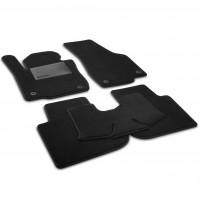 Коврики в салон для Renault Koleos '17-, текстильные, черные (Optimal)