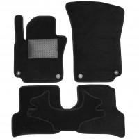 Коврики в салон для Seat Toledo '05-09, текстильные, черные (Optimal)